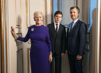 Prince Christian's official portraits, 2020