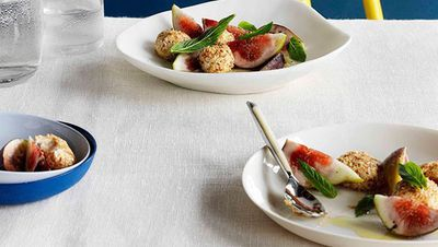 "<a href=""http://kitchen.nine.com.au/2016/05/16/17/54/honey-yoghurt-cheese-with-toasted-sesame-seeds-figs-and-mint"" target=""_top"">Honey yogurt cheese with toasted sesame seeds, figs and mint</a>"