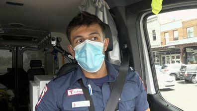 Steve Gelagotis paramedics 2021.