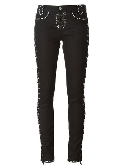 """<a href=""""http: www.farfetch.com="""" """"="""""""" au="""""""" shopping="""""""" women="""""""" saint-laurent-lace-up-jeans-item-10911058.aspx?storeid=""""9140&ffref=lp_263_"""">Lace-up Jeans, $3790.83, Saint Laurent</a>"""