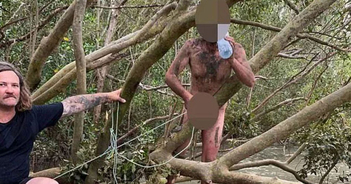 Naked Darwin mangrove fugitive told fishermen he'd got lost on way to Tones and I gig