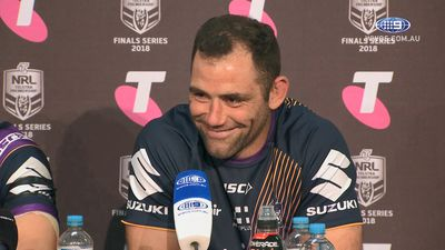 NRL: Cameron Smith could consider retiring with grand final win