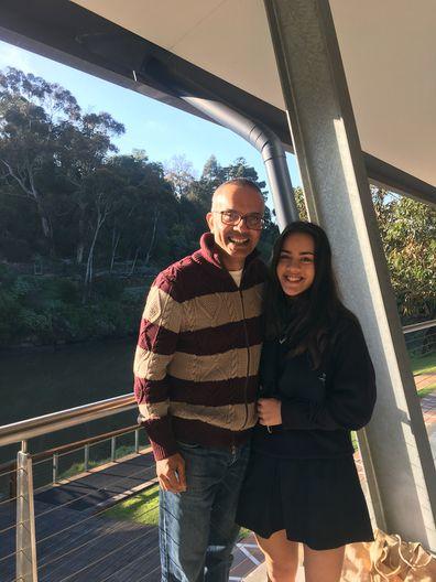 Raj and Yasmin trip together