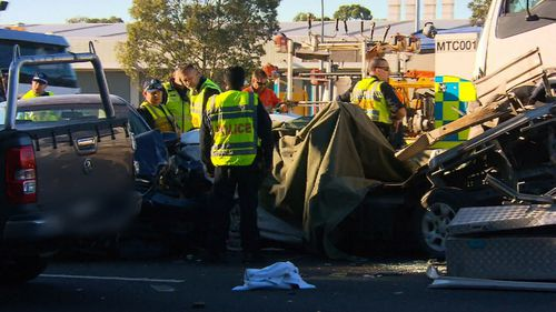 190511 Sydney M4 Motorway crash man charged fatal News NSW Australia