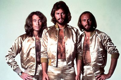 Once you've finished laughing at the awesome gold spandex outifts the Gibb brothers are wearing in this 1970 photo, you'll see that poor old Robin Gibb was the skinny, quirky-looking one in the band, while the other two were (believe it or not) considered pretty hot in their day.