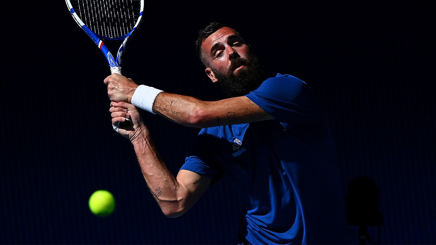 Benoit Paire's 'extraordinary' eight consecutive faults in service game stun commentators