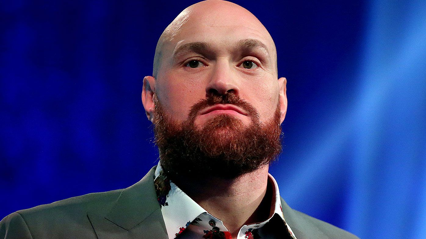 Tyson Fury sings Aerosmith to wife and Vegas crowd after TKO victory