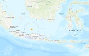 Earthquake measuring 6.6 hits Indonesia's main island and is felt in Bali