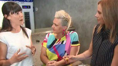 Kate Reid of Lune talks croissants with Jane de Graaff and Ali Langdon