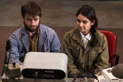 Daniel Radcliffe and Geraldine Viswanathan