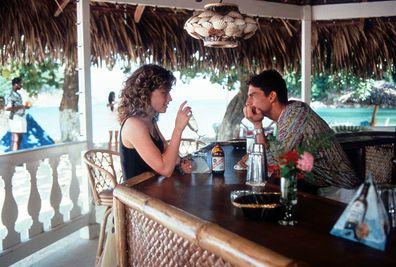 Cocktail, Tom Cruise, co-star Elisabeth Shue