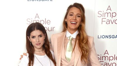 Blake Lively and Anna Kendrick are our style and friendship goals