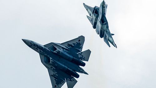 Russia's Most Advanced Fighter Jet Crashes During Training Flight