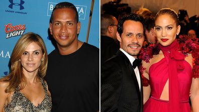 Jennifer Lopez, Alex Rodriguez, Cynthia Scurtis, Marc Anthony