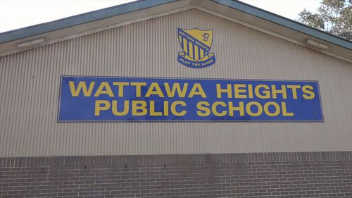 Emergency services were called to Wattawa Heights Public School just after midday.