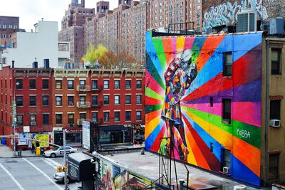 High Line Park Mural
