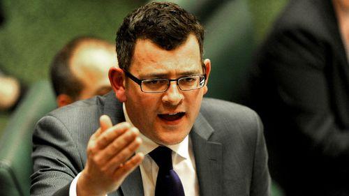 Victoria Opposition Leader Daniel Andrews. (AAP Image/Joe Castro)