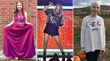 Teen battling brain cancer dreams of meeting Taylor Swift