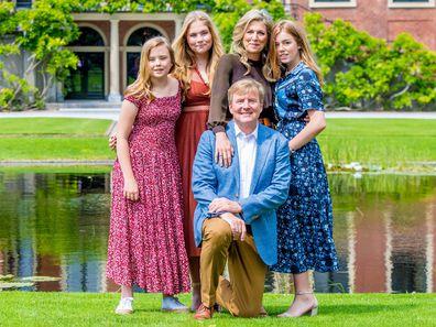 Dutch royal family summer photo call