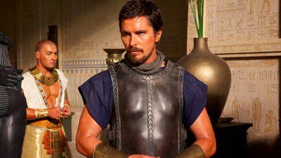 Joel Edgerton and Christian Bale in <em>Exodus: Gods and Kings</em>