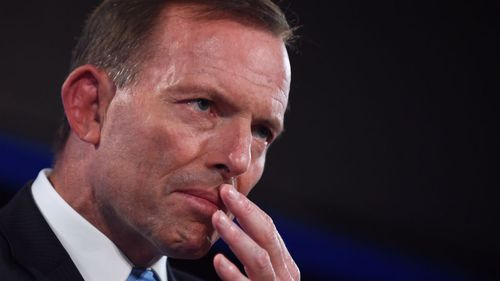 NOT LOOKING GOOD: Prime Minister Tony Abbott.