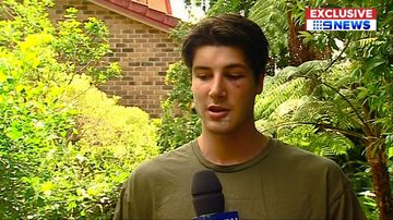 Gold Coast one-punch attack victim 'lucky to be alive'