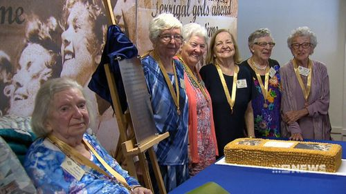 They were awarded their bronze medallions by the Governor General. (9NEWS)