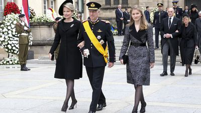 Royal mums: Mathilde d'Udekem d'Acoz