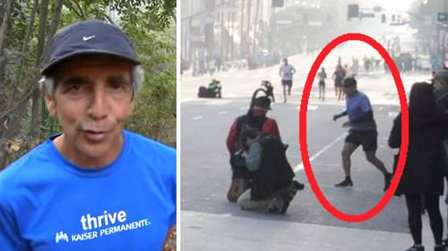 Marathoner, 70, hounded by cheating allegations is found dead in a river