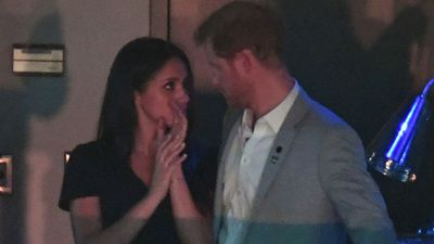 "Prince Harry and Meghan Markle relationship: October 31, 2017<span style=""white-space: pre;"">	</span>"