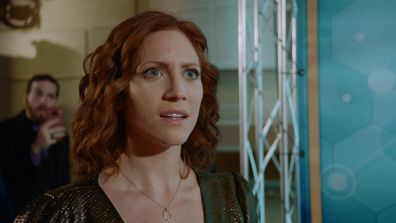 Brittany Snow stars in Almost Family