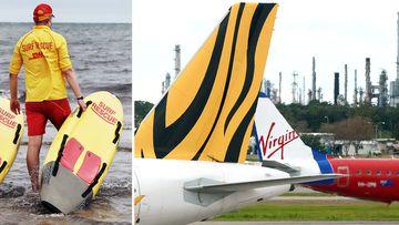 190409 News Australia lifesaving airline water safety videos