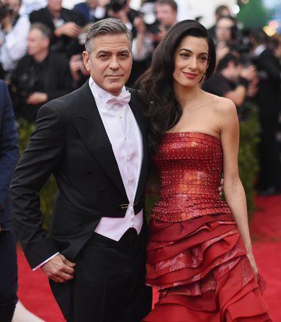 George Clooney, Amal Clooney, Met Gala