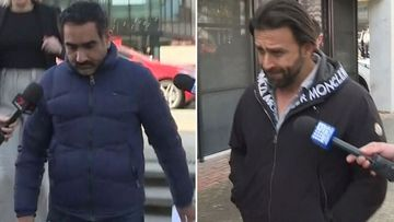 Raminder Kahlon (left) and Abdul El-Debel (right) faced the ACT Magistrates Court today.