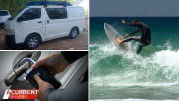 Surfers insurance warning after van stolen despite using key lock