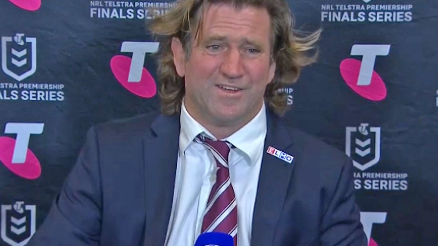 'Does it really matter?': Des Hasler loses his patience with journalists in post-match press conference