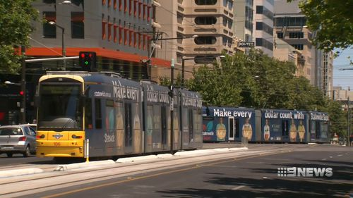A plan for a right-hand turn for trams on North Terrace has been scrapped.