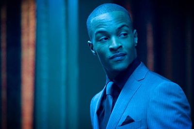 Rapper T.I. was on his way to a video shoot when he heard a man was going to jump off a building in Atlanta. He made a detour, talked to police and filmed a video message that they then played for the man. He stepped back from the ledge and the rapper hung around to chat to him before he was taken to hospital for treatment.
