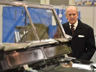 """Prince Philip had a """"great interest"""" in design which is where the involvement with  Land Rover comes from."""