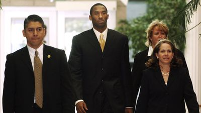 2004: Bryant's legacy was marred by the allegation that he raped a 19-year-old Colorado hotel worker. A civil suit was eventually brought, Bryant issued an apology through his attorney and the case was later dropped when the accuser refused to testify.