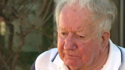 "Mr Burdett's friend, John ""Tug"" Wilson, said he was ""shattered"" after the returned serviceman's death. (9NEWS)"