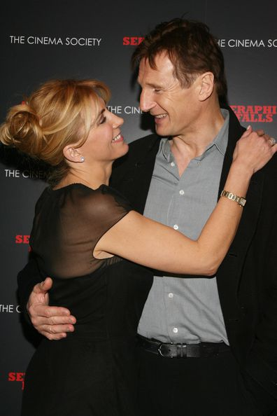 Natasha Richardson and Liam Neeson in 2007.