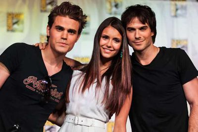 Nothing will destroy your self-esteem quite like the cast of <I>The Vampire Diaries</i> (Paul Wesley, Nina Dobrev and Ian Somerhalder).