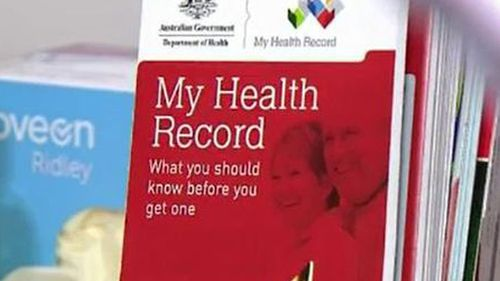 Labor argued many Australians don't fully understand what the health record means.