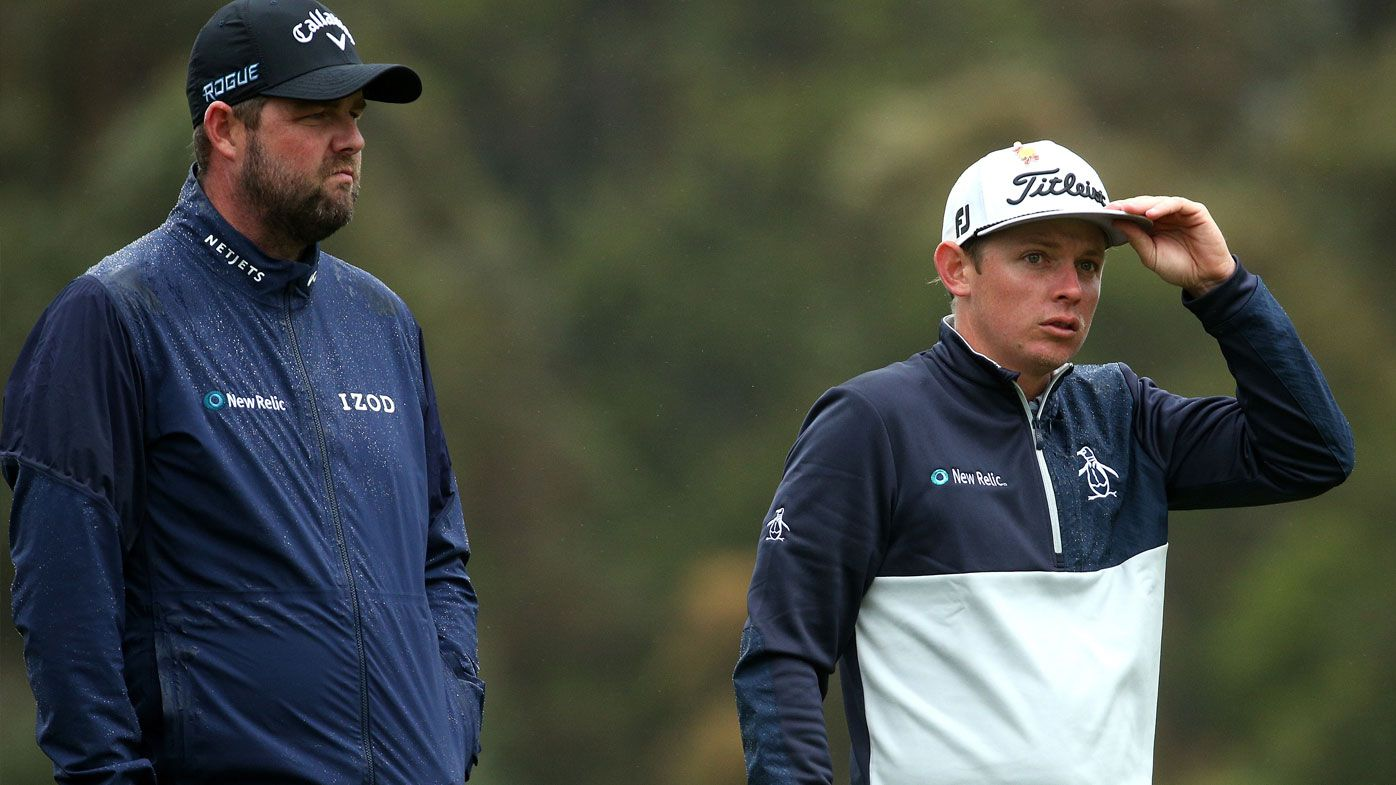 Aussies brave the elements as Wild weather lashes World Cup of Golf: Day 1 wrap