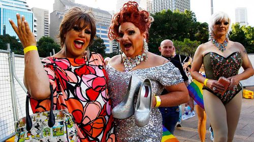 Sydney's famous Mardi Gras celebration attracts thousands of supporters. (File image)