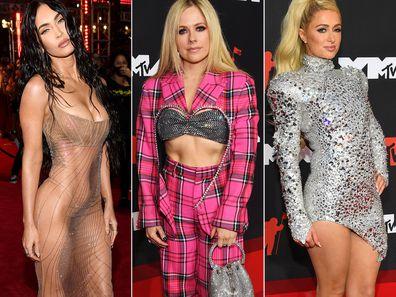 2021 MTV VMA red carpet looks