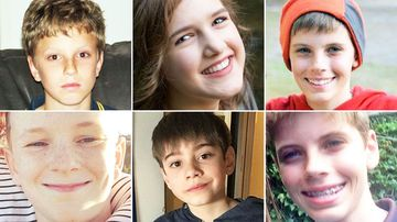 All of these children have had serious psychological breakdowns while taking Singulair, including Sara Hozen (top middle) who took her own life, and Harrison Sellick (bottom middle) who became suicidal at the age of four.