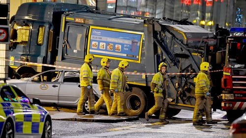 The driver was reportedly seen slumped over the wheel. (Getty Images)