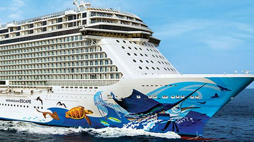 The 33-year-old man went overboard at around 3.20pm local time on Saturday from the Norwegian Getaway.